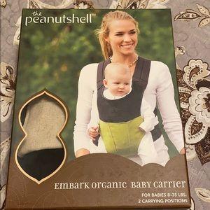 The PeanutShell Embark Organic Baby Carrier